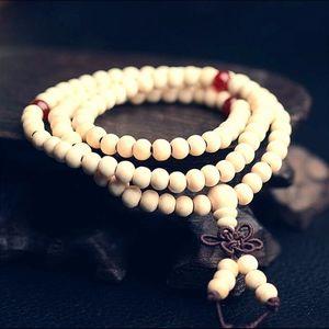 Tibetan Buddhist Sandalwood Prayer Beads Bracelet